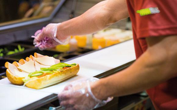 Sprit und Sandwich